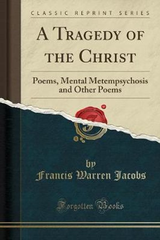 Jacobs, F: Tragedy of the Christ