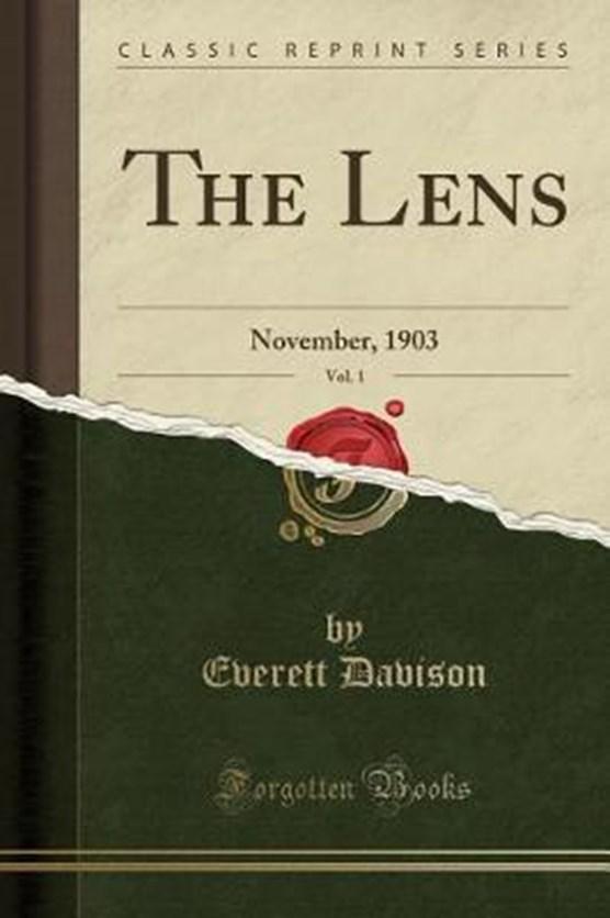 Davison, E: Lens, Vol. 1