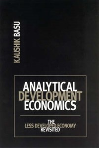 Analytical Development Economics   Kaushik Basu  