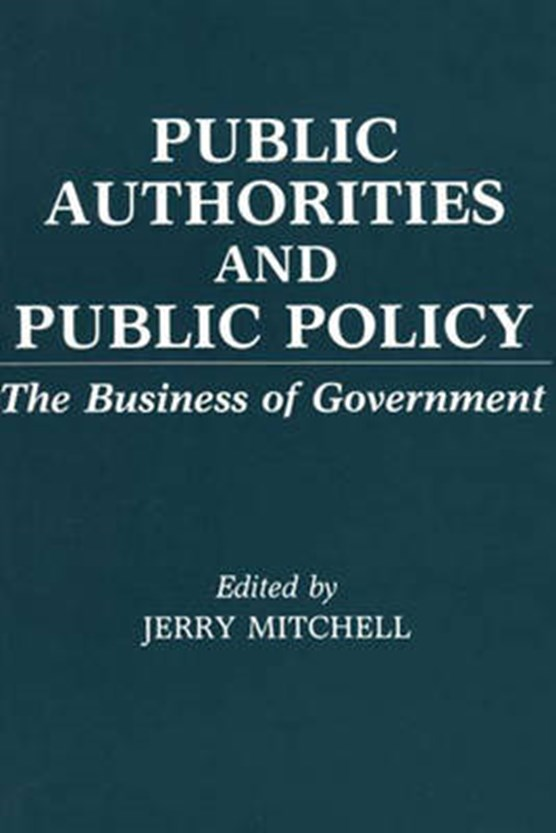Public Authorities and Public Policy