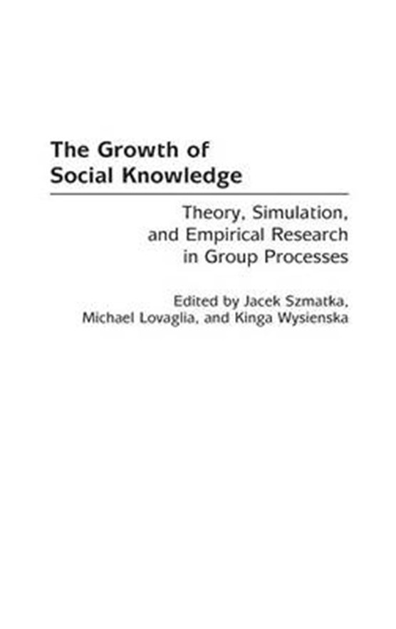The Growth of Social Knowledge