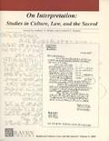 On Interpretation | Kaplan, Leonard V. ; Weiner, Andrew D. |