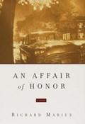 An Affair of Honor | Richard Marius |