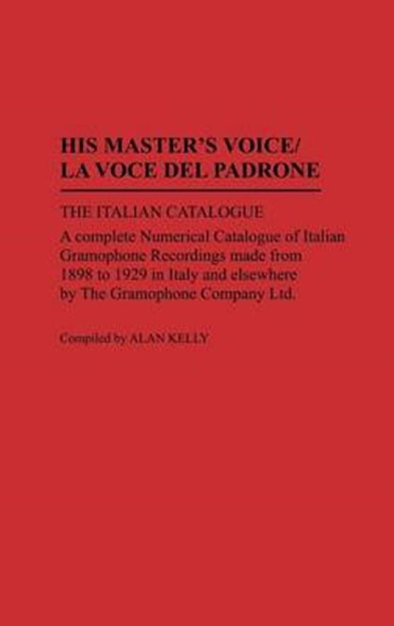 His Master's Voice/La Voce Del Padrone