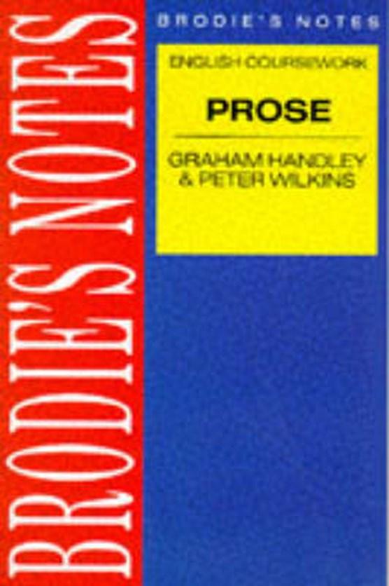 Handley: Prose