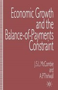 Economic Growth and the Balance-of-Payments Constraint | Mccombie, John ; Thirlwall, A. P. |