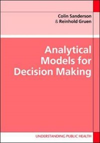 Analytical Models for Decision-Making with CD | Colin Sanderson |