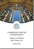 Report on the Marine Bill   Northern Ireland: Northern Ireland Assembly: Committee for the Environment  