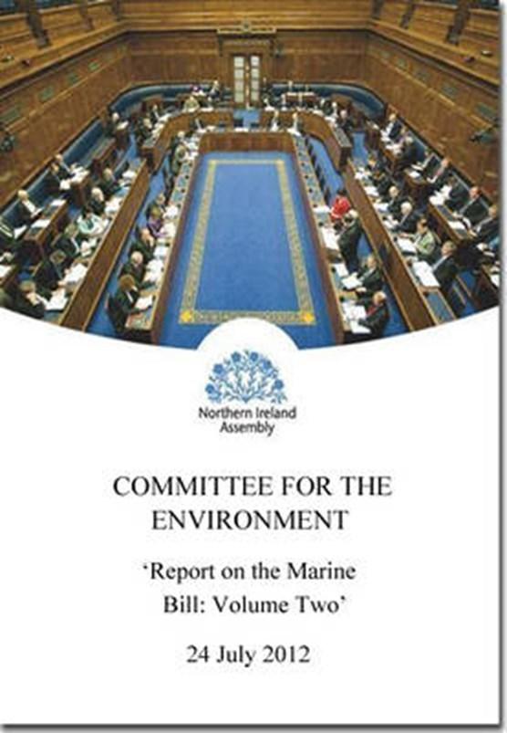 Report on the Marine Bill