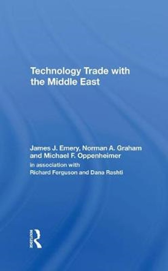 Technology Trade With The Middle East