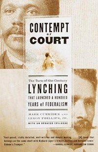 Contempt of Court | Mark Curriden |