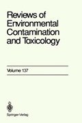 Reviews of Environmental Contamination and Toxicology | Dr. George W. Ware |
