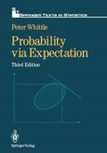 Probability via Expectation | Peter Whittle |