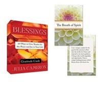 Blessings Gratitude Cards   Julia Cameron  