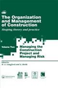 The Organization and Management of Construction   auteur onbekend  