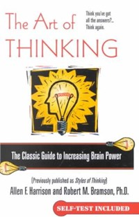 The Art of Thinking | Allen F. Harrison |