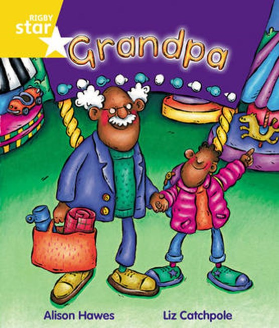 Rigby Star Guided Year 1 Yellow Level: Grandpa Pupil Book (single)