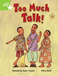 Rigby Star Guided Phonic Opportunity Readers Green: Too Much Talk Pupil Bk (Single)   auteur onbekend  