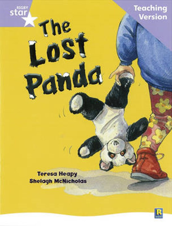 Rigby Star Guided Reading Lilac Level: The Lost Panda Teaching Version