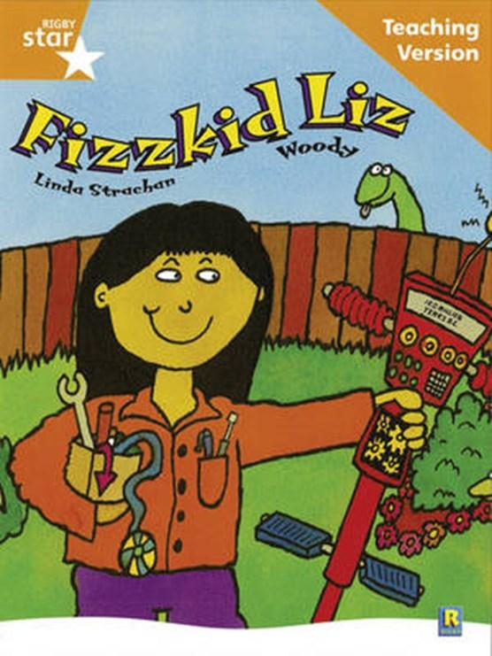 Rigby Star Guided Reading Orange Level: Fizzkid LiTeaching Version