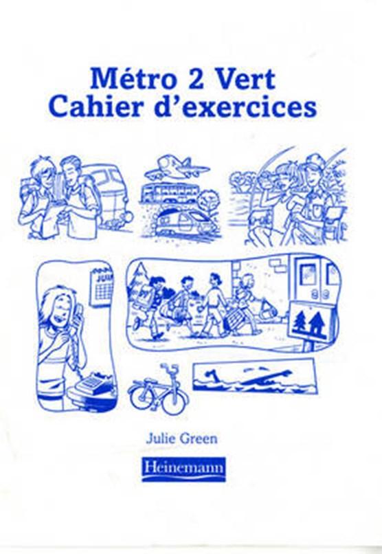Metro 2 Vert Workbook Euro Edition (Pack of 8)