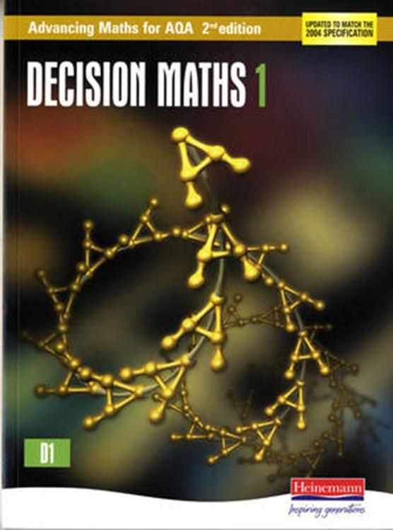 Advancing Maths for AQA: Decision 1