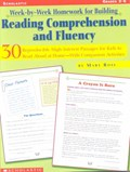 Week-by-week Homework for Building Reading Comprehension and Fluency, Grades 3-6 | Mary Rose |