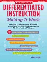 Differentiated Instruction | Patti Drapeau |