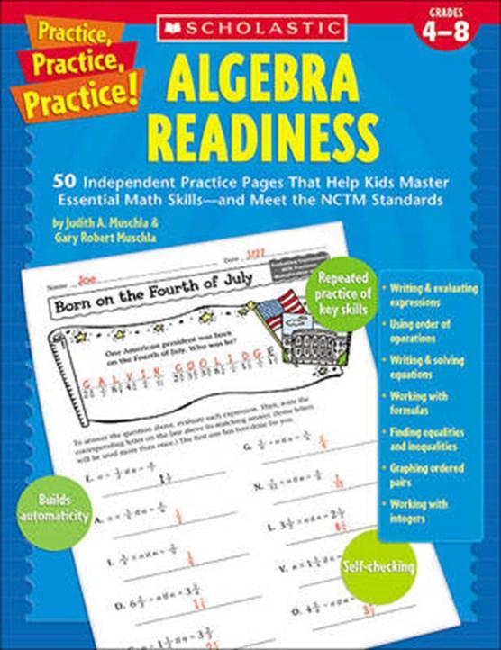 Algebra Readiness, Grades 4-8