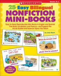 25 Easy Bilingual Nonfiction Mini-books   Judy Nayer  