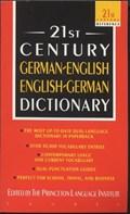 21st Century German-English English-German Dictionary | Princeton Language Institute |