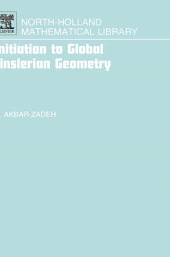 Initiation to Global Finslerian Geometry