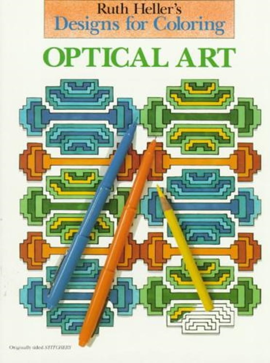Optical Art Coloring Book