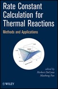Rate Constant Calculation for Thermal Reactions | Herbert DaCosta |