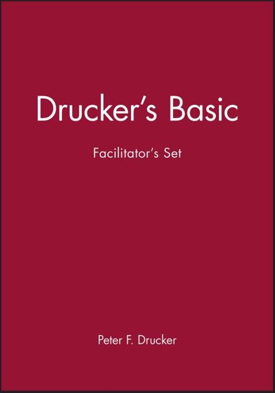 Drucker's Basic Facilitator's Set