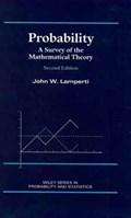 Probability   John W. Lamperti  