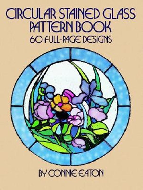 Circular Stained Glass Pattern Book