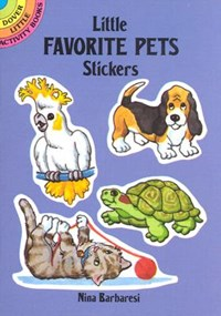 Little Favorite Pets Stickers | Nina Barbaresi |