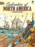 Exploration of North America Coloring Book   Peter F. Copeland  
