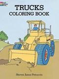 Trucks Coloring Book   Steven James Petruccio  