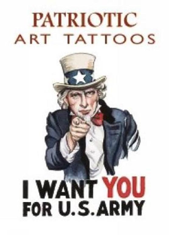 Patriotic Art Tattoos