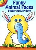 Funny Animal Faces Sticker Activity Book | Fran Newman-D'amico |