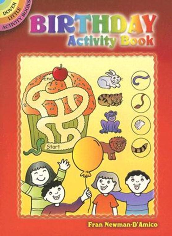 Birthday Activity Book