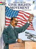 History of the Civil Rights Movement Coloring Book   Steven James Petruccio  