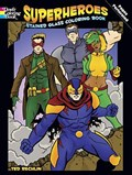 Superheroes Stained Glass Coloring Book | Rechlin |