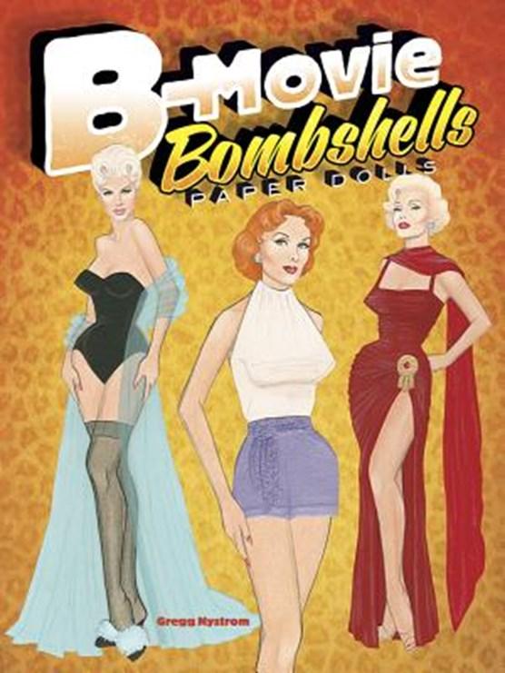 B-Movie Bombshells Paper Dolls