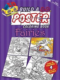 Build a 3-D Poster Coloring Book - Fairies | Sovak |