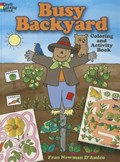 Busy Backyard Coloring and Activity Book | Fran Newman-D'amico |