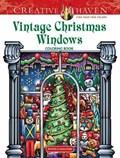Creative Haven Vintage Christmas Windows Coloring Book | David Bodo |