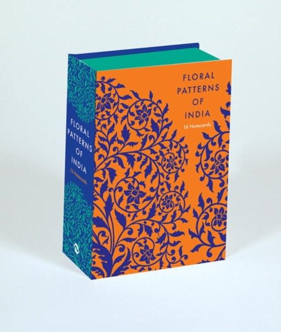 Floral patterns of india notecards: 16 notecards + envelopes